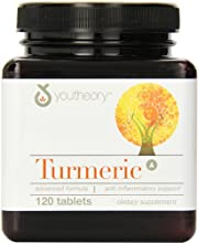 Youtheory Turmeric Advanced Formula Tablets 120 Count