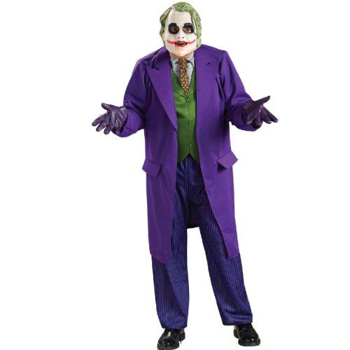 Rubies Costumes バットマン ダーク ナイトジョーカー デラックス 大人用 コスチューム STDサイズ