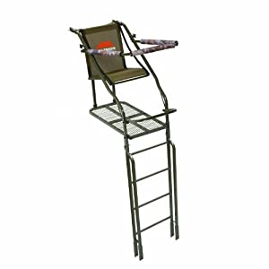 Millennium L-110 Single Ladder Tree Stand, 21-Feet by Millennium