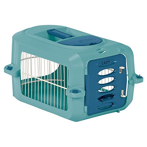 Portable Pet Crate 9″ Tall Pet Carrier – Small Dog Dogs Cat Cats Carriers Airport Approved Air Travel