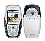 Unlocked Nokia 6600 Classic Bar Smart Symbian Mobile phone (White, One battery)