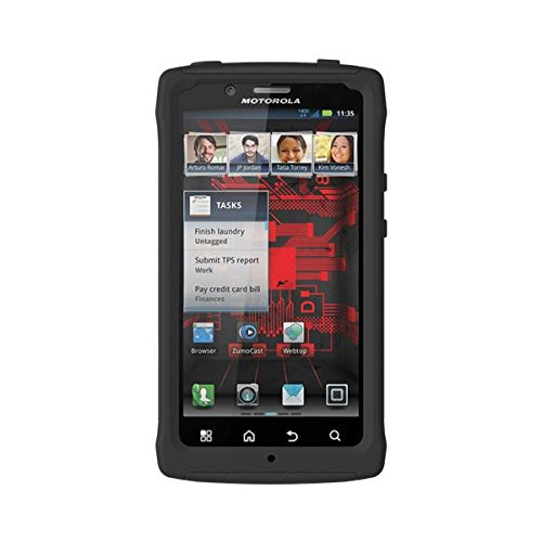 Trident Case AG-BIO-BK AEGIS Series for Motorola Droid Bionic - Black - 1 Pack - Carrying Case - Retail Packaging