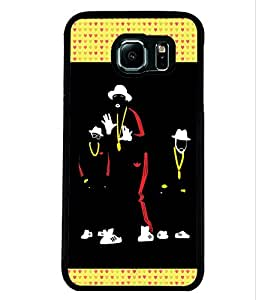 Printvisa 2D Printed Designer back case cover for Samsung Galaxy S6- D4330