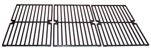 Gloss-Cast-Iron-Cooking-Grid-Replacement-for-Select-Brinkmann-and-Charmglow-Gas-Grill-Models-Set-of-3