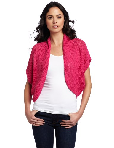 Vince Camuto Women's Shrug Sweater, Bianca Pink, Medium