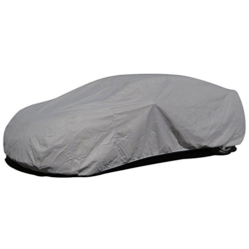 Budge Lite Car Cover Fits Sedans up to 200 inches, B-3 - (Polypropylene, Gray) (93 Mazda Rx7 compare prices)