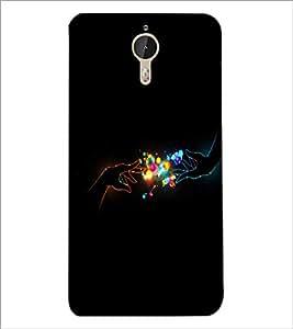 PrintDhaba Digital Hands D-2015 Back Case Cover for LETV (LE ECO) LE 1 PRO (Multi-Coloured)