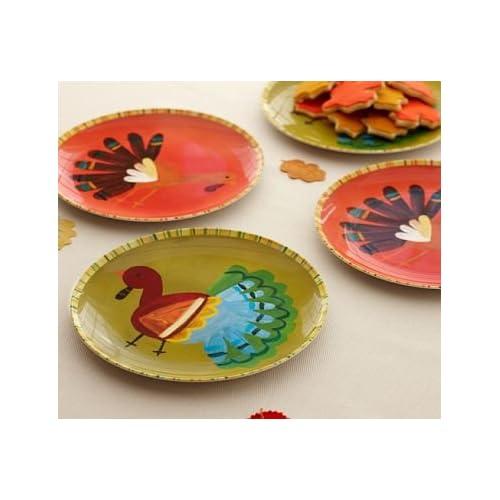Pottery barn kids thanksgiving plates dinner for Pottery barn thanksgiving