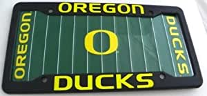 Amazon Com Oregon Ducks License Plate And Frame Automotive