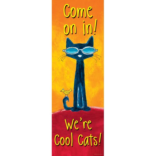 Pete the Cat Welcome Banner (Pete The Cat Bulletin Board Set compare prices)