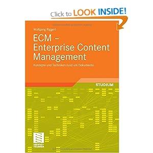 ECM Enterprise Content Management Wolfgang Riggert