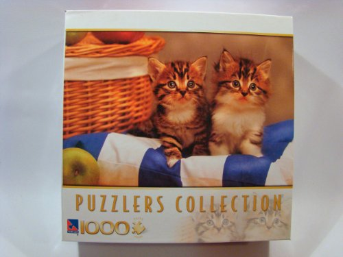 Puzzlers Collection 1000 Piece Jigsaw Puzzle: Picnic Kittens - 1