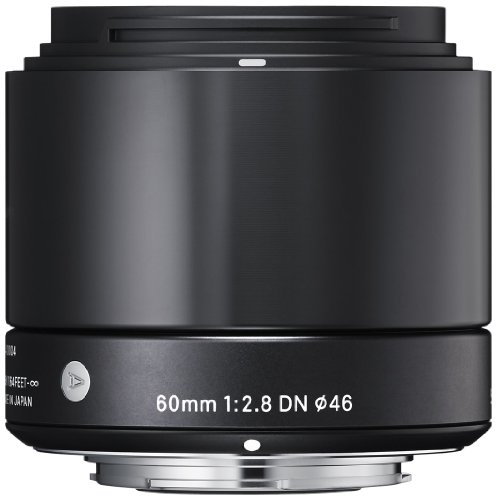 Sigma 60mm f/2.8 DN A Series Telephoto Lens for Micro 4/3rd Fit - Silver