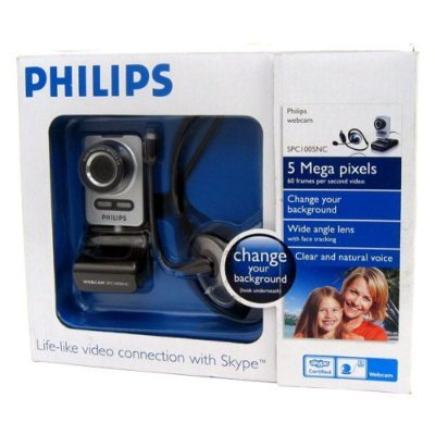 Philips SPC 1005NC - Web camera - color - audio - USB