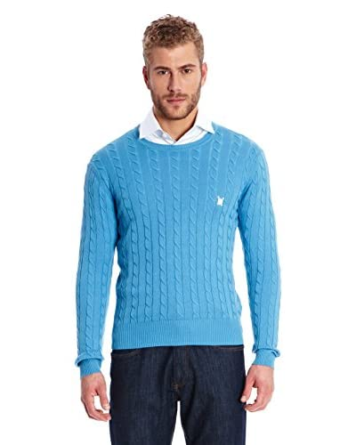 Polo Club Pullover Sir U Braided Jersey [Turchese]
