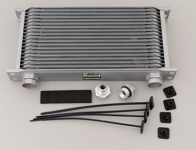 Earl's 41908ERL 19 Row Oil Cooler -8 AN