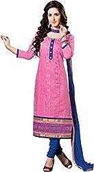 Vastrakosh Women's Silk Cotton Unstitched Dress Material (Vastra_26_Multicoloured_44)