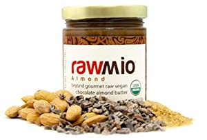 Rawmio Chocolate Almond Spreads - 01/6 oz. Jar