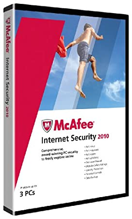 McAfee Internet Security  2010 - 3 User