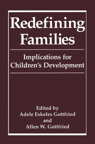 Redefining Families: Implications For Children'S Development front-843193
