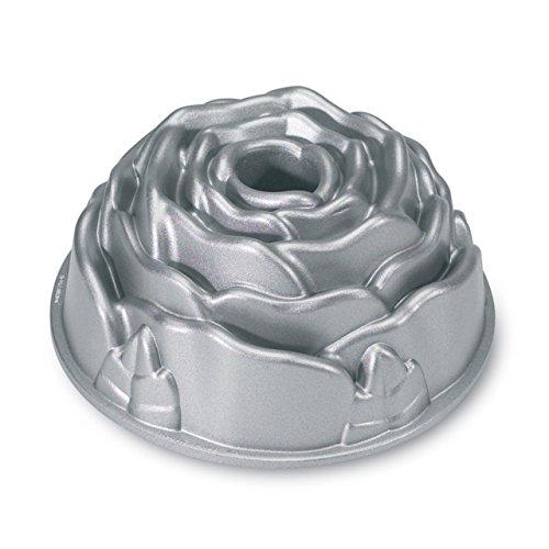 Nordic Ware Platinum Rose Cast Aluminum Bundt Pan (Rose Bundt Pan compare prices)