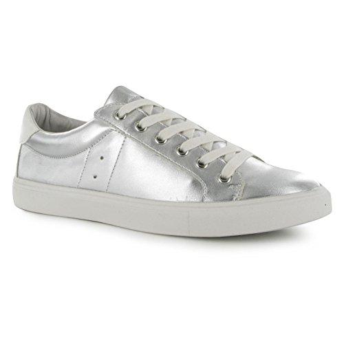 steve-madden-lovve-trainers-zapatillas-de-plata-casual-zapatillas-de-moda-plata-uk35