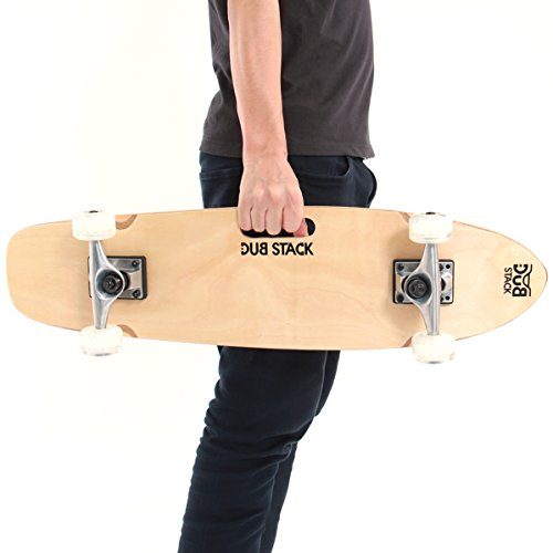 DUB STACK(ダブスタック) グリップデッキクルージングスケートボード...