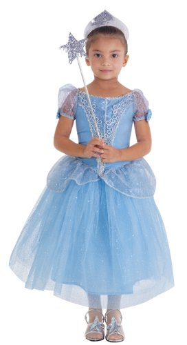 Child Beautiful Cinderella Costume Gown