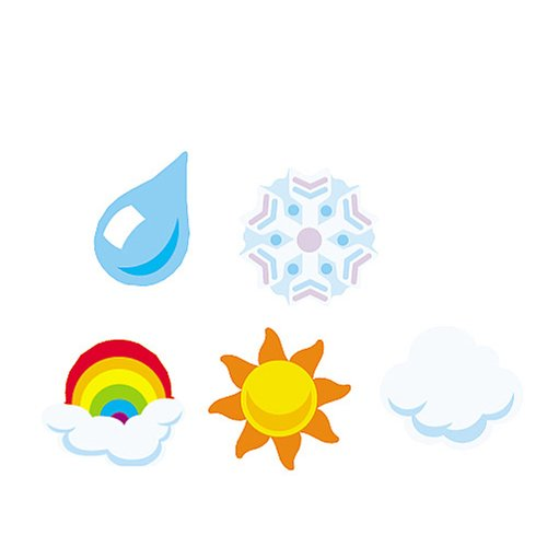 Supershapes Stickers Weather
