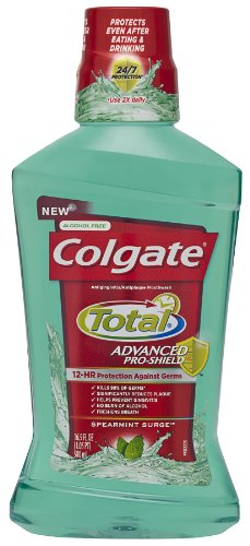 Colgate Total Advanced Pro-Shield Mouthwash, Spearmint Surge