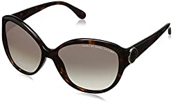 Marc by Marc Jacobs Women's MMJ384S Round Sunglasses, Havana, 57 mm