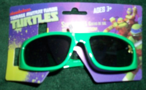 Green Ninja Turtle Childrens Sunglasses
