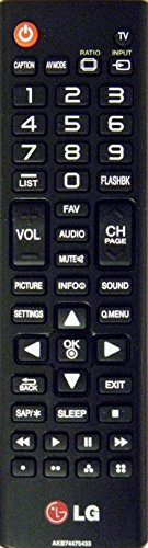 LG Electronics AKB74475433 Remote Control (Lg Control Remote compare prices)