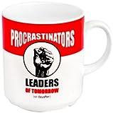Happily Unmarried Procrastinator Mug, Red