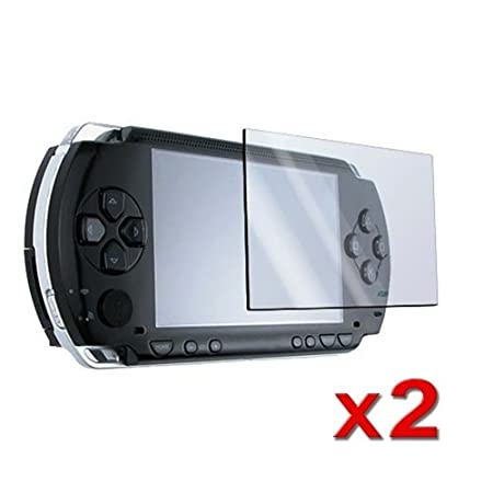 eForCity 2x Screen Protectors Cover Guard For Sony PSP 1000 3000 Slim 2000