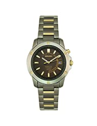 Seiko Men's SKA294 Kinetic Two-Tone Watch