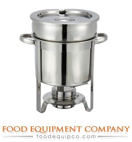 Winco 207 Stainless Steel Soup Warmer, 7-Quart