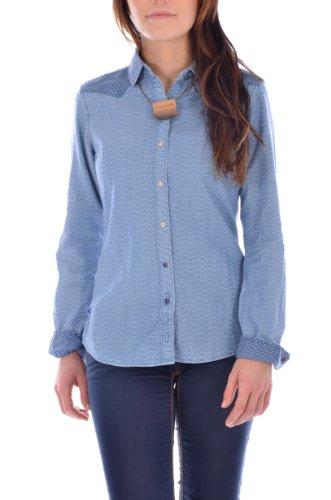 Maison Scotch - Camicia -  donna blu XL
