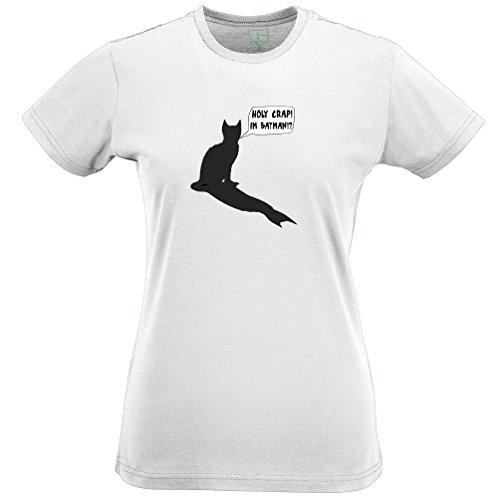 Holy Crap My Cats Batman! Funny Geeky Cat Original Design T Shirt Gift
