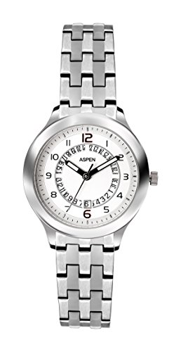 Aspen Aspen Workwear Analog Silver Dial Women's Watch - AP1718