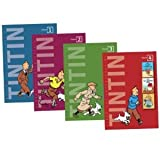 HERGE VOLUME 1-4 BOOKS COLLECTION GIFT SET (The Adventures of Tintin: