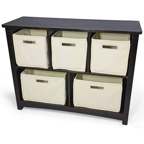 Black Friday Kids Wood Bookcase/Toy Organizer With Storage Bins Deals