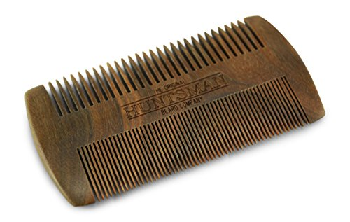 Huntsman-Handmade-Sandalwood-Beard-and-Mustache-Comb-The-Original-Wooden-Pocket-Combs-for-Men-Fine-ToothCoarse-Tooth-No3b