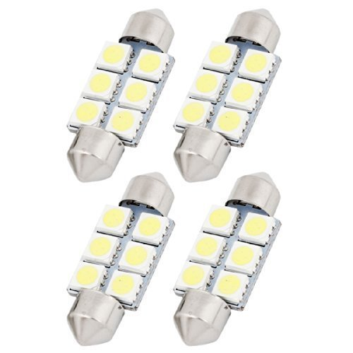 neuftech 4x 36mm 6 5050 smd c5w kfz led soffitte auto lampe innenraum kennzeichenbeleuchtung. Black Bedroom Furniture Sets. Home Design Ideas