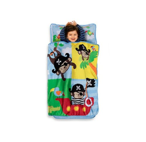 Little Monkey Pirates Toddler Nap Mat