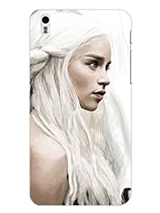 Game Of Thrones Daenerys Targeryan - Hard Back Case Cover for Htc Desire 816 - Superior Matte Finish - HD Printed Cases and Covers