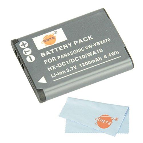 Dste® Kit Vw-Vbx070 Rechargeable Li-Ion Battery For Panasonic Hm-Ta2, Hm-Ta20, Hx-Dc1, Hx-Dc10, Hx-Dc10Eb-K, Hx-Dc10Ef-K, Hx-Dc10Gk, Hx-Dc15, Hx-Dc1Eb-H, Hx-Dc1Eb-K, Hx-Dc1Eb-R, Hx-Dc1Eb-W, Hx-Dc1Ef-H, Hx-Dc1Eg-H, Hx-Dc1Eg-P, Hx-Dc1Gk, Hx-Dc2, Hx-Dc2Eg-H,