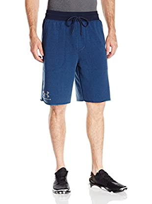 Under Armour Short Entrenamiento Ss Terry Short (Azul Marino)