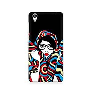 Mobicture Premium Printed Back Case Cover With Full protection For Vivo Y51L