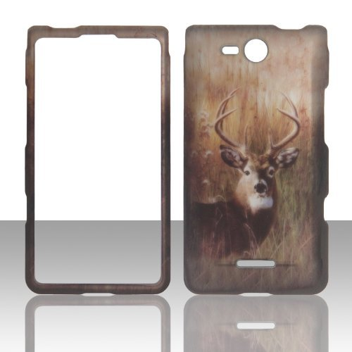 2D Buck Deer LG Lucid 4G LTE VS840 Verizon Case Cover Phone Snap on Cover Case Faceplates (Lg Lucid 4g Lte compare prices)